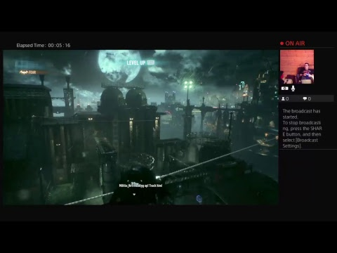 Shim Plays Batman Argham Knight on PS4