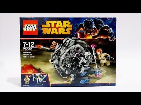 Vidéo LEGO Star Wars 75040 : La moto-roue du Général Grievous