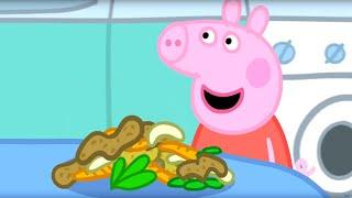 Свинка Пеппа на русском все серии подряд | Пеппа будет обедать | Мультики