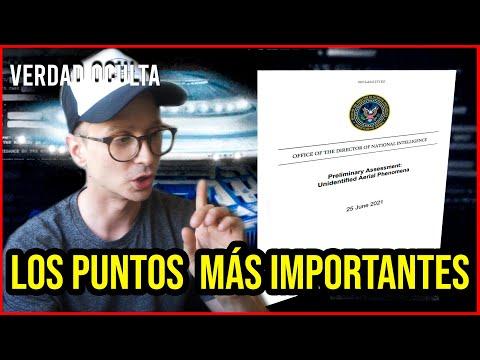 LO MÁS IMPORTANTE DEL DOCUMENTO DESCLASIFICACIÓN OVNI DEL 25 DE JUNIO. (Vídeo)