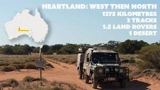 HEARTLAND: West then North ~ Slow TV overland across the Great Victoria Desert.