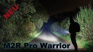 Von 1 Lumen bis 1800 Lumen - Olight M2R PRO Warrior