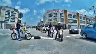 preview picture of video 'RIDE PADU - Malaysia   2014   SIMC   SJ4000'
