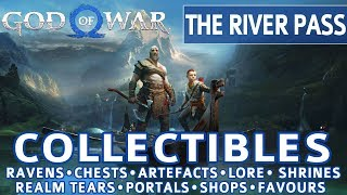 God of War - The River Pass All Collectible Locations (Ravens, Chests, Artefacts, Shrines) - 100%