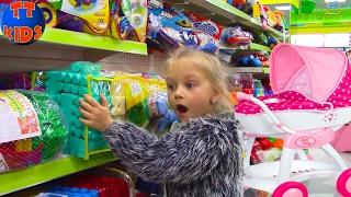 Видео для детей Маленькие дети на катке Новые приколы Выбираем коляску