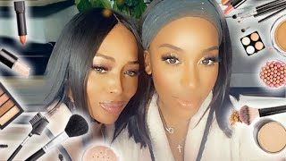 NAOMI CAMPBELL GETS GLAM WITH ME!!! GUYS I'M -
