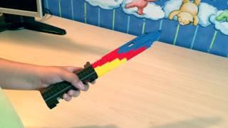 Лего поделки 1 (штык-нож и нож фальшион)