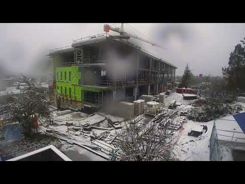 VIU Health and Science Centre construction time lapse
