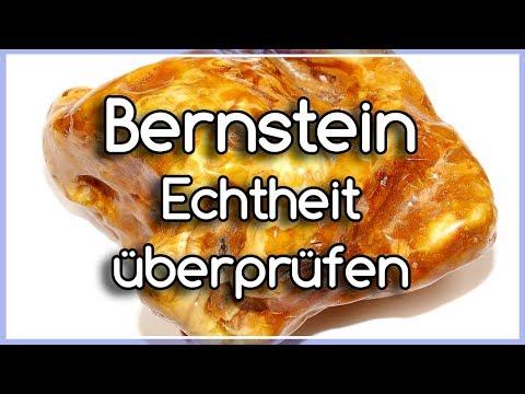 Bernstein Echtheit überprüfen - Bernstein selber testen