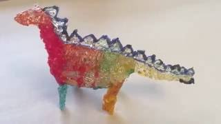 3d ручка  Polyes Q1 - рисуем дракона