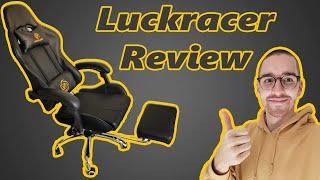 LUCKRACER Gaming Chair REVIEW - [günstiger aber guter Gaming-Stuhl]