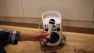Kinder CD Player Test - auna Kara Liquida Karaoke