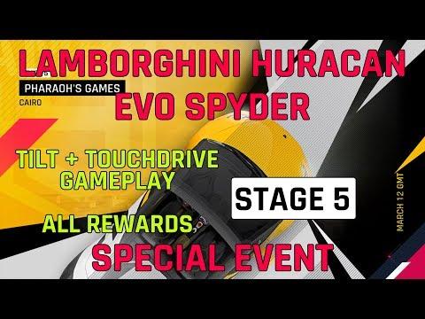 Estágio 5 Lamborghini Huracan Evo Spyder Evento especial