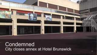 preview picture of video 'Lancaster city condemns part of Brunswick'