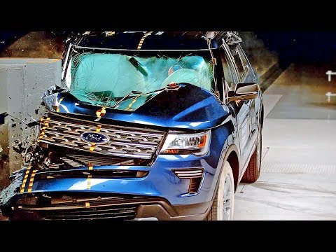 Ford Explorer (2018) Bad Result To Crash Test