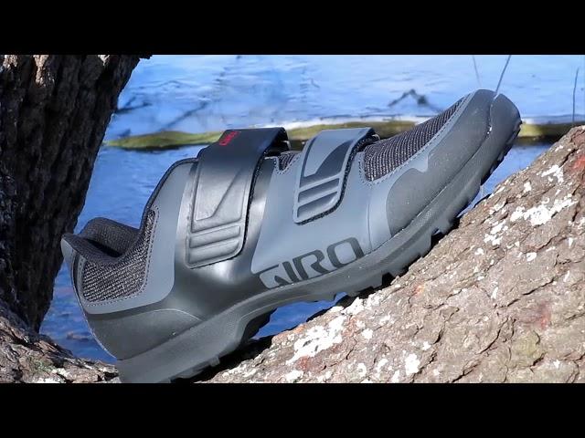 Видео Велотуфли женские Giro Berm W titanium/dark shadow