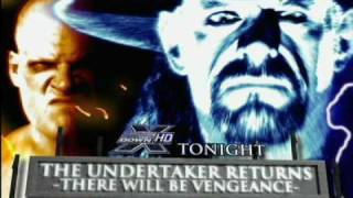 The UnderTaker Vows Revenge from his brother Kane after leaving him in a vegatative state