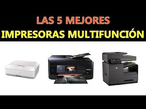 Mejores Impresoras Multifunción 2018