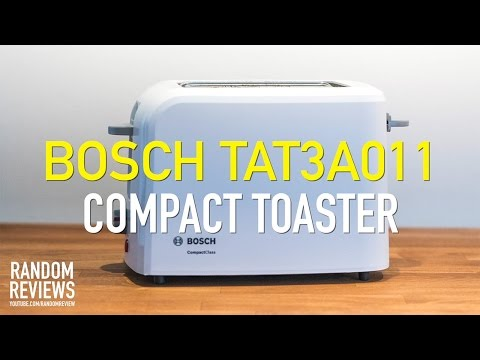 Best Compact Toaster? BOSCH TAT3A011 Review