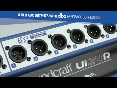 Digimikseri Soundcraft Ui24R