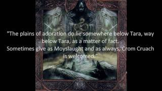 Absu - Stone of Destiny (...for Magh Slécht and Ard Righ) -Lyrics-