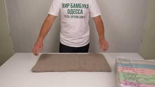 Турецкие махровые полотенца, 50 х 90 см., 6 шт./уп. M10118 от компании МИР БАМБУКА ОПТ. Полотенце, халат, простынь оптом, Одесса, 7 км. - видео