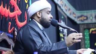 preview picture of video 'تلبية الحسين (ع) | الشيخ حسين البلادي | محرم 1436 | مأتم أسكان دمستان | البحرين'