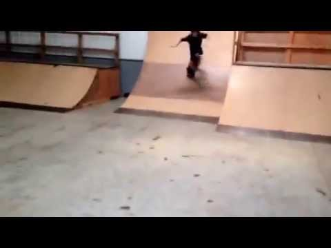 Skating at Spikes skatepark