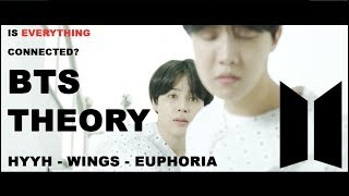 EUPHORIA, HYYH + WINGS - BTS | PARALLELS + CONNECTIONS (for theories)