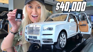 World's Most Expensive Toy Car | Rolls Royce Cullinan