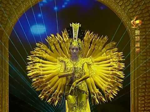 """Китайский танец--""""Тысячерукая Гуаньинь"""""""