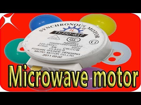 4 incredible things to do with a microwave oven motor