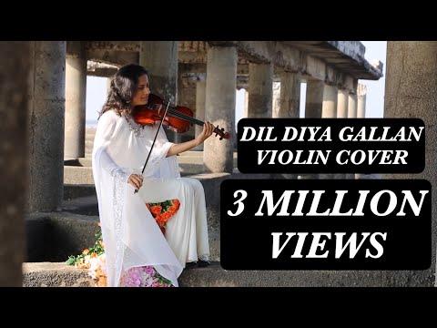 dil diyan gallan violin cover shruti bhave tiger zinda hai