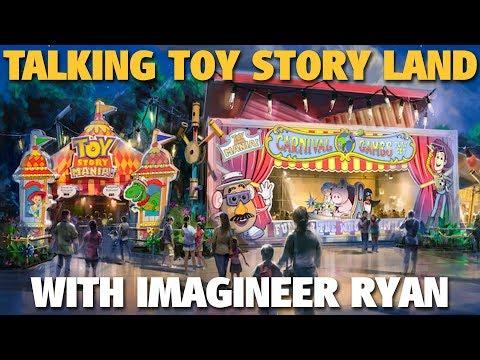 Talking Toy Story Land with Imagineer Ryan   Disney's Hollywood Studios