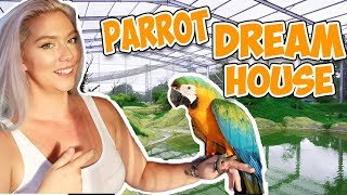 BUILDING MY PARROT HER DREAM HOUSE! (AWESOME)