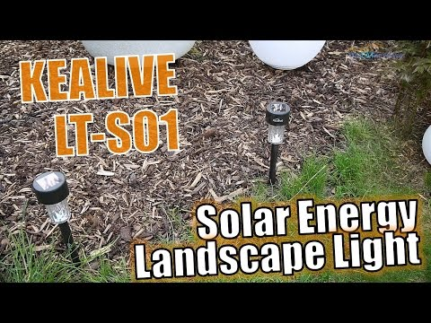 Kealive LT-SO1 | Test | Solar Energy Landscape Light - Solar Gartenleuchte -  Deutsch
