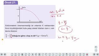 Eğitim Vadisi AYT Fizik 4.Föy İki Boyutlu Hareket (2.Bölüm)  Konu Anlatım Videoları