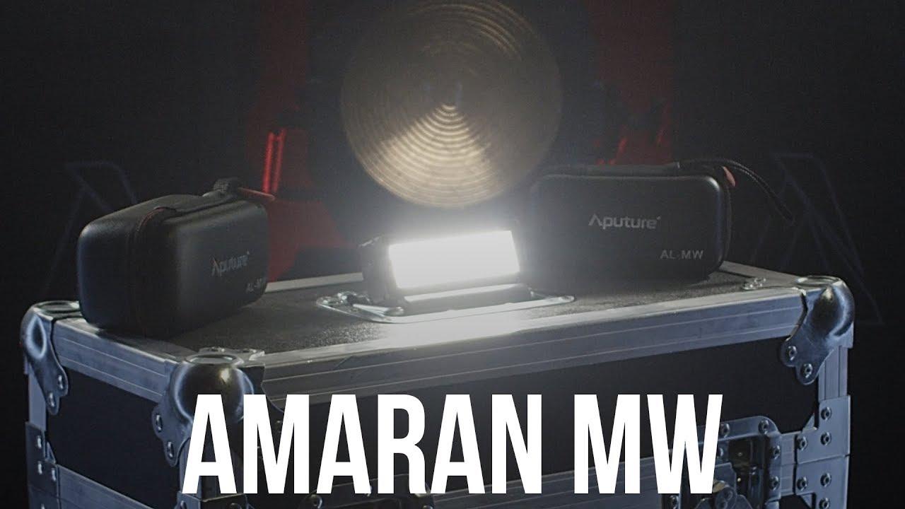 פנס לד עמיד במים Aputure Amaran AL-MW