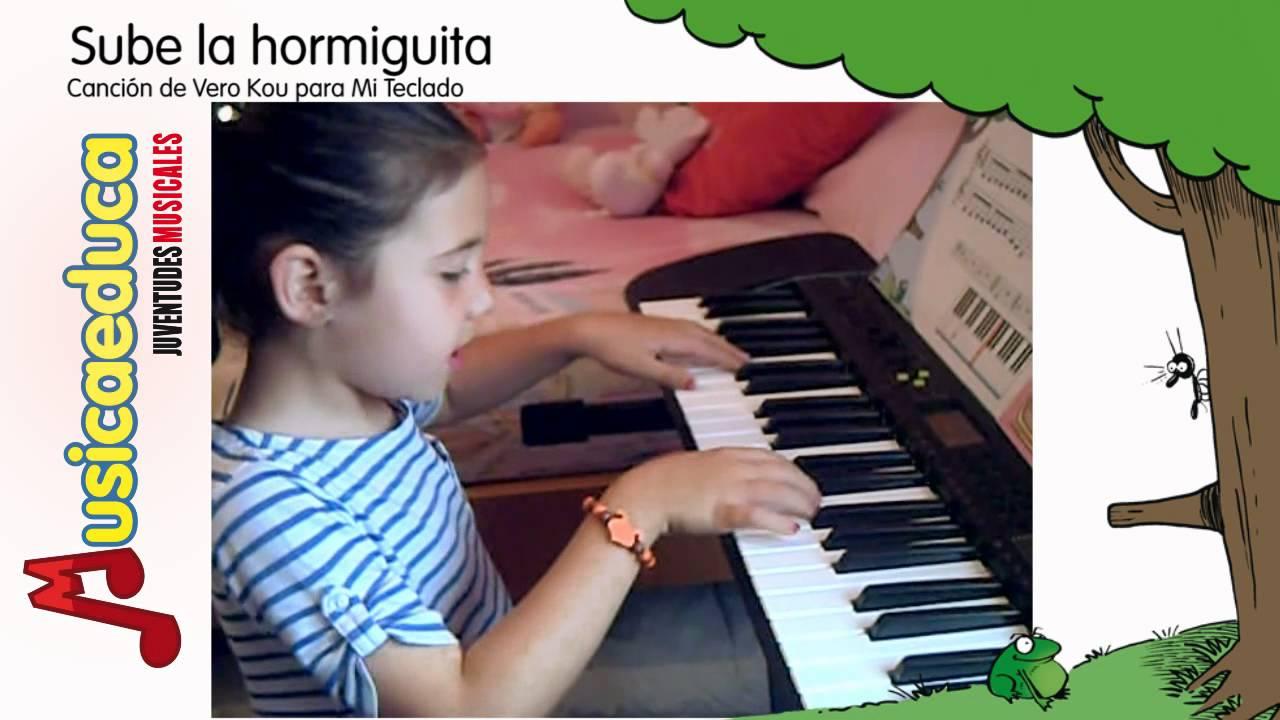 Sube la hormiguita - Mi Teclado 1 - Canción infantil