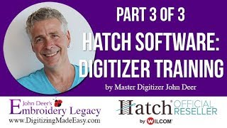 hatch embroidery software - Free video search site - Findclip