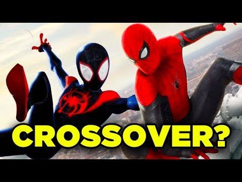 Spiderman Far From Home MILES MORALES Cameo? Into the Spider-Verse Crossover Theory!