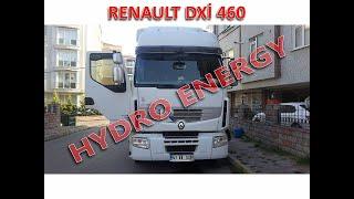 Renault Premium 460 dxi çekici Hidrojen yakıt tasarruf cihazı montajı.