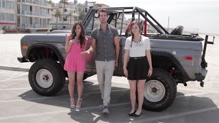 Cheerleader Megan Nicole with James Maslow and Tiffany Alvord cover OMI Felix Jaehn Remix Video