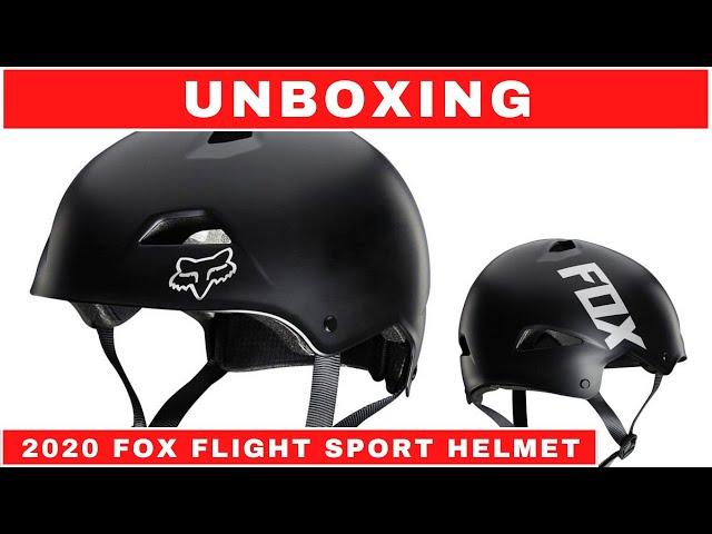 Видео Шлем Fox Flight Sport Helmet (White/Berry)