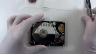 ハードディスク重度物理障害ヘッド交換からの復活2DATAHOPE東北データ復旧