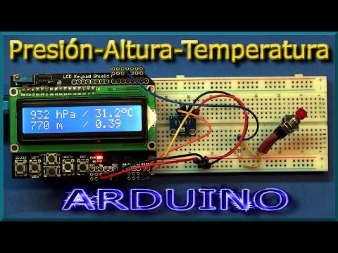 ✅ ARDUINO: Altímetro barométrico | J_RPM