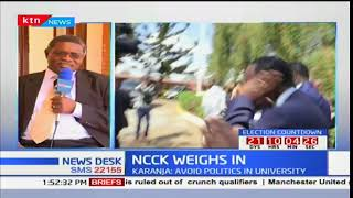 NCCK weighs in: NCCK calls for sobriety