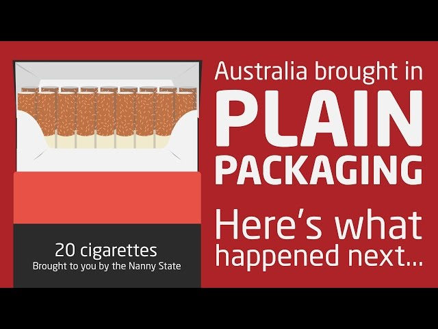 The failure of plain packaging