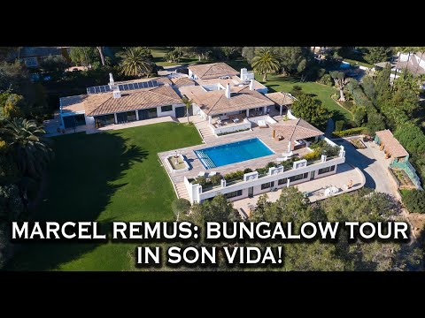 Marcel Remus: 13 Mio.€ Bungalow Tour in Son Vida!