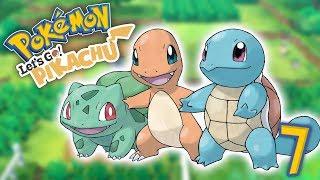 TODOS LOS STARTERS! Pokemon Lets Go! E7 - Luzu